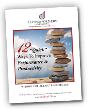 12 Quick Ways to Improve Performance and Productivity ebook